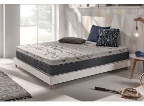 Matelas Top Caress en mousse à mémoire, Viscotex MemoFeel et Blue Latex®