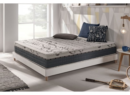 matelas top caress en mousse m moire viscotex aquapur et blue latex. Black Bedroom Furniture Sets. Home Design Ideas