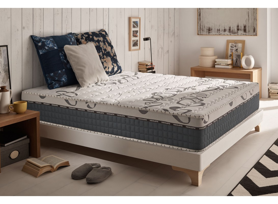 matelas smoothy en mousse m moire viscotex aquapur et blue latex. Black Bedroom Furniture Sets. Home Design Ideas