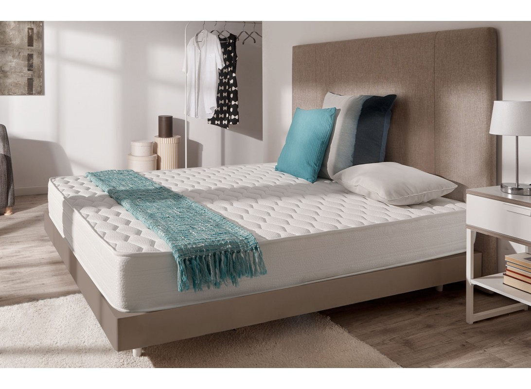 matelas sensotex en mousse effet m moire aquapur et blue latex. Black Bedroom Furniture Sets. Home Design Ideas