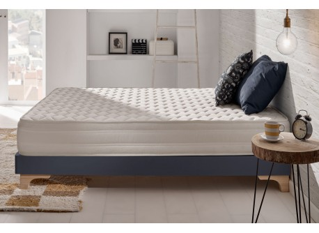 Matelas Deluxe en mousse à mémoire Viscotex® et Blue Latex®
