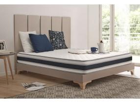 Colchón Grandconfort con espumación Blue Latex® y espuma de efecto memoria Aquapur®.