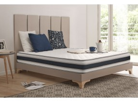 Grandconfort high resilience foam mattress with Blue Latex® et Aquapur®