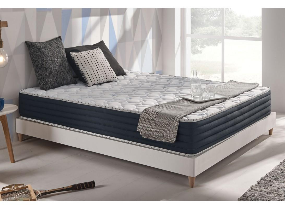 matelas deep blue m moire de forme gel fresh. Black Bedroom Furniture Sets. Home Design Ideas