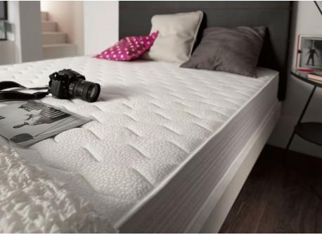 Colchón visco elástico Ergo de espuma Viscotex®, el modelo más ergonómico de la marca Naturalex.