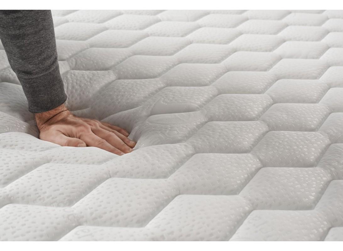 matelas ergopur 100 mousse blue latex. Black Bedroom Furniture Sets. Home Design Ideas