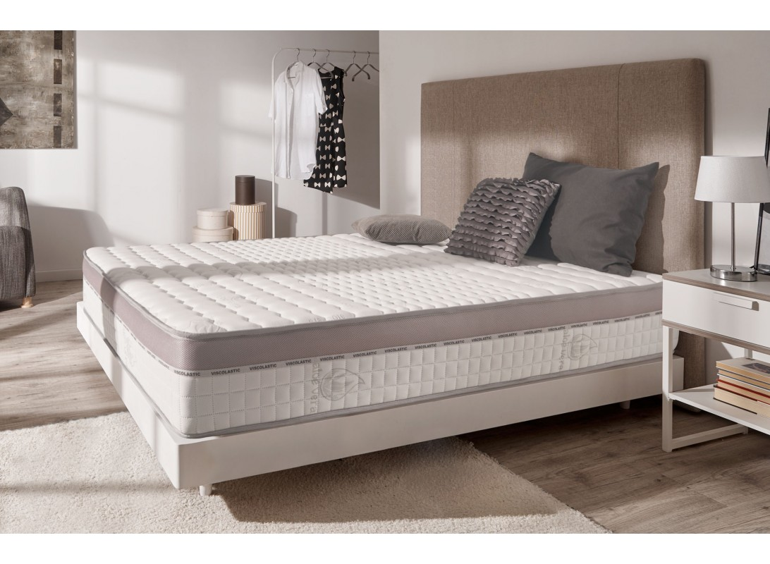 matelas viscomax en mousse m moire thermosoft 2 faces. Black Bedroom Furniture Sets. Home Design Ideas