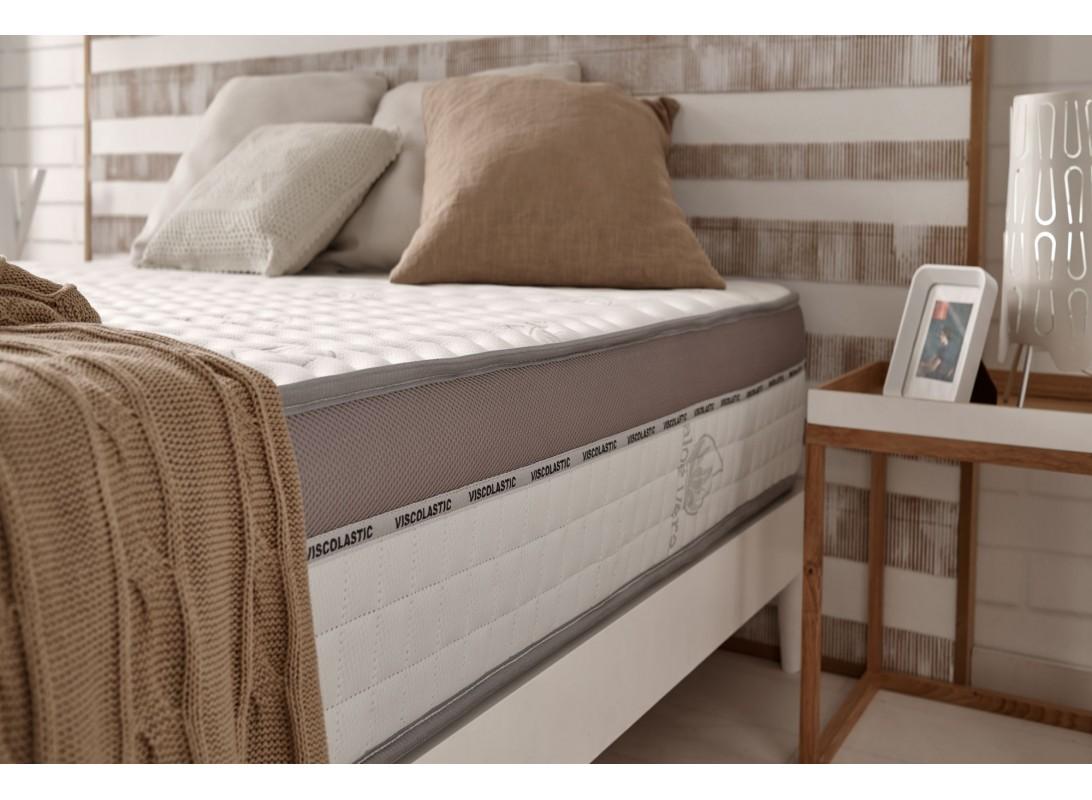 matelas viscomax en mousse m moire thermosoft 2 faces. Black Bedroom Furniture Sets. Home Design Ideas
