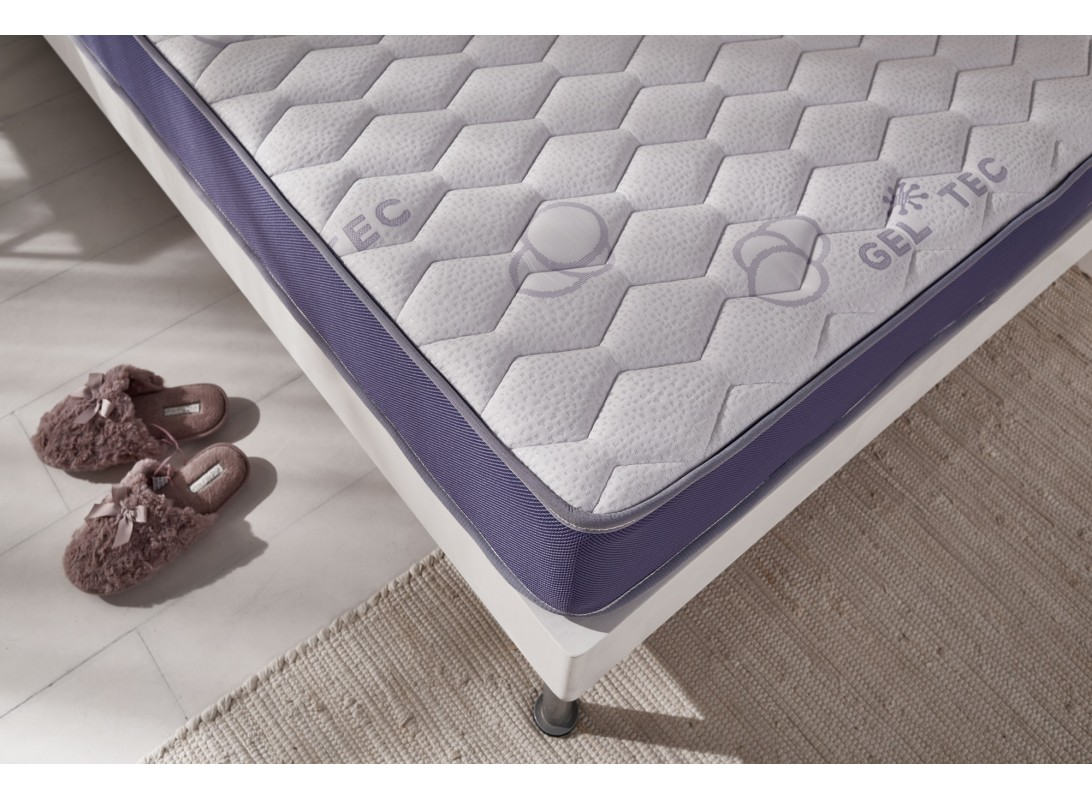 matelas gel intense en mousse m moire de forme gel fresh. Black Bedroom Furniture Sets. Home Design Ideas