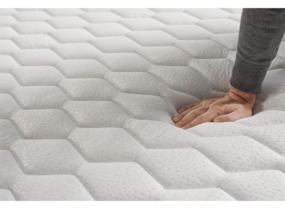 matelas optimax en mousse m moire thermosoft. Black Bedroom Furniture Sets. Home Design Ideas