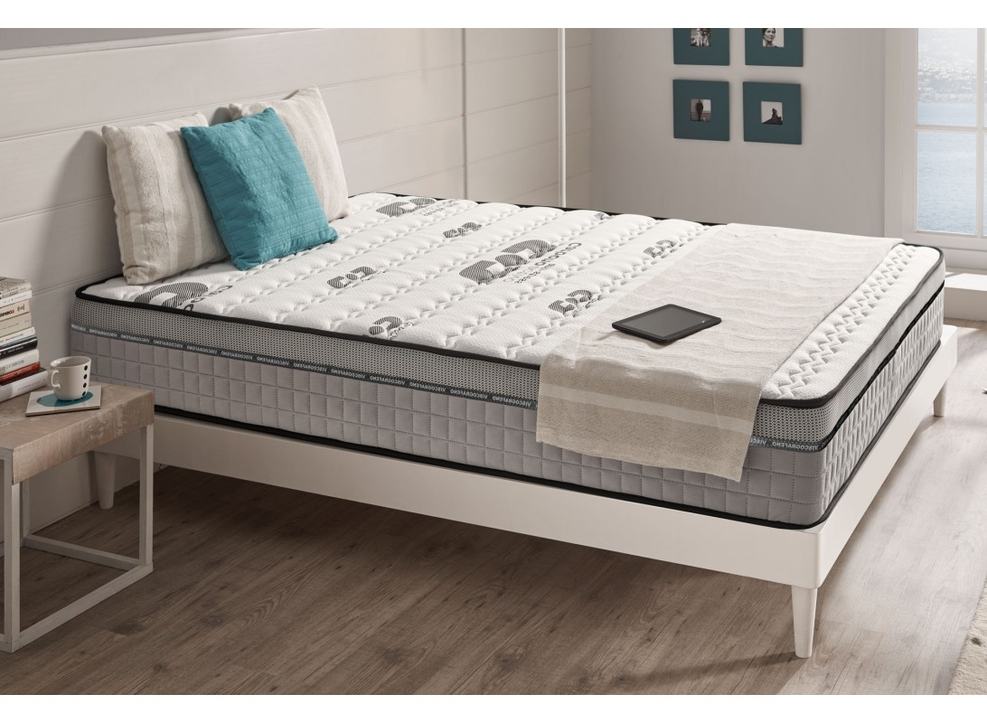 matelas maxi carbone en mousse m moire viscotex bio memory. Black Bedroom Furniture Sets. Home Design Ideas