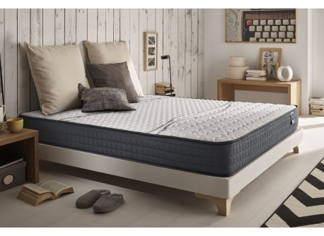 Matelas Top Elastic en mousse à mémoire Viscotex® et Blue Latex®