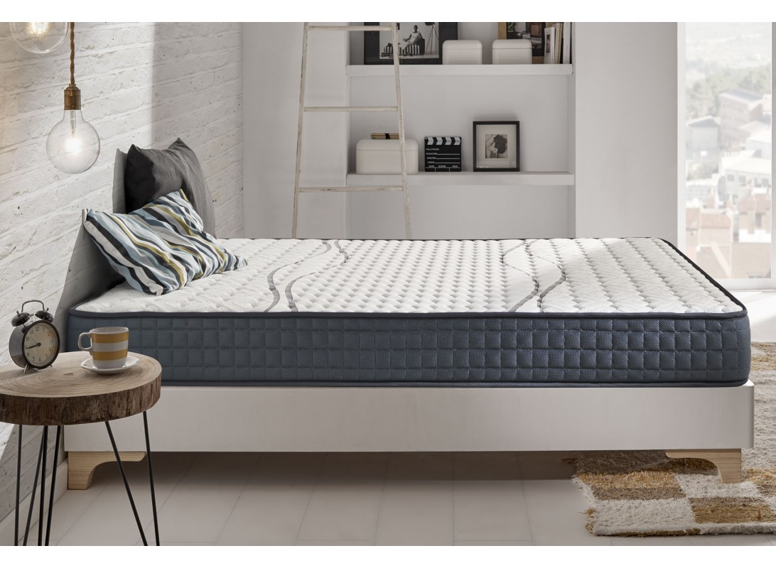 matelas elastic plus en mousse m moire viscotex et blue latex. Black Bedroom Furniture Sets. Home Design Ideas