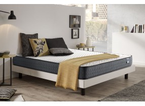 Matelas Stretchy en mousse à mémoire Viscotex et Blue Latex®