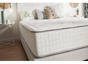 Matelas MEMORY S en mousse à mémoire double face Viscotex et Thermosoft - 18 cm | Naturalex®
