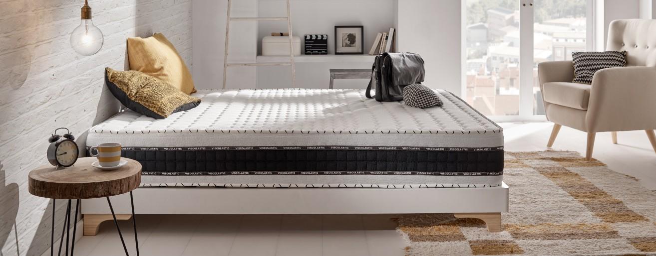 Luxe Memory viscoelastic foam mattress