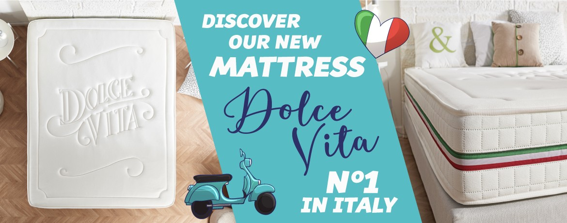 Discover our mattress Dolce Vita