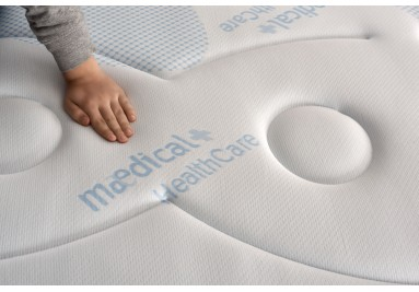 Materasso Sensogel da 24 cm in memory con capsule gel rinfrescanti